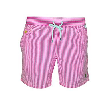 Polo Ralph Lauren Men\u0027s Swim Shorts Traveller Swim - pink - XX-Large