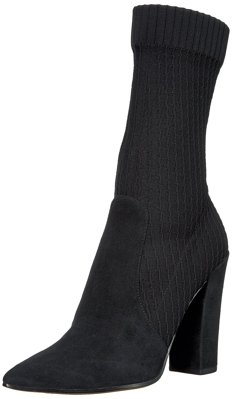 Dolce Vita Women's Elon Fashion Boot B075KG1GBW 8 B(M) US|Black Suede