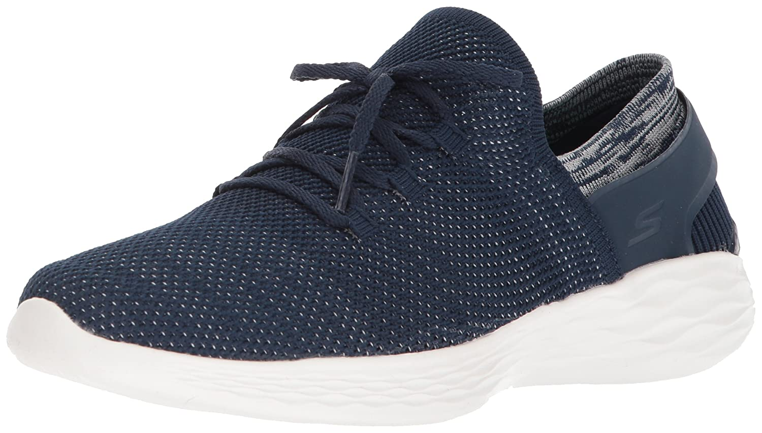 Skechers Women's You-14960 Sneaker B072K7MWPG 10 B(M) US|Navy/White
