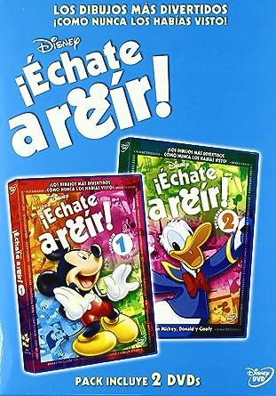 Pack Échate a reir con Mickey, Donald y Goofy Vol. 1 y 2 DVD ...