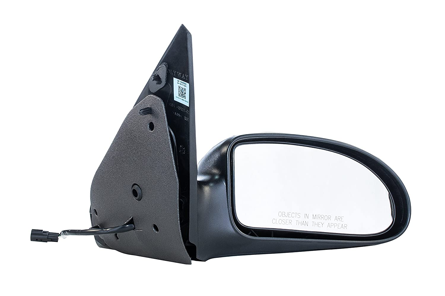Dependable Direct Right Passenger Side Textured Power Operated Non Heated Non Folding Door Mirror For Usa Built Ford Focus 2000 2001 2002 2003 2004
