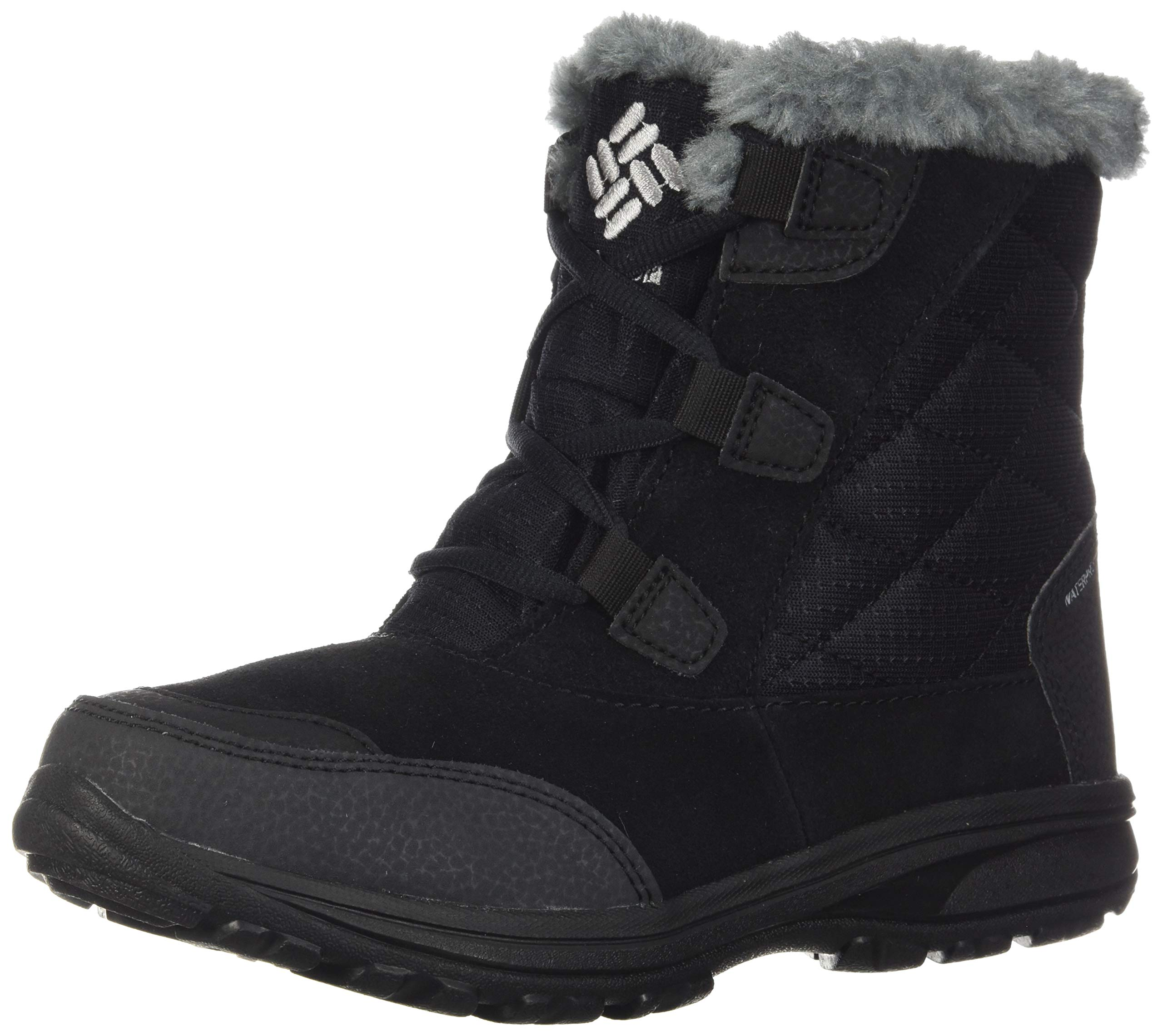 Columbia Women's ICE Maiden Shorty Snow Boot, Black, Grey, 12 Regular US by Columbia