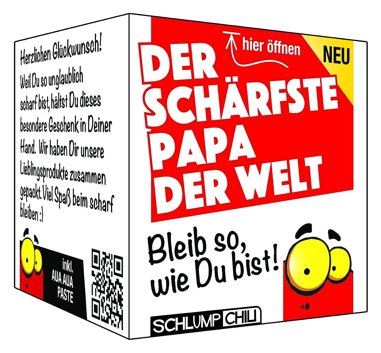 Der schärfste Papa der Welt - Ein witziges Geschenk Set für Männer ...