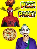 Spiderman vs Joker Pizza Prank | Funny Superheroes in Real Life