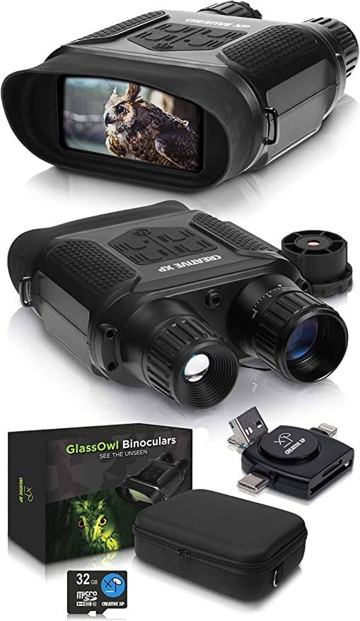 CREATIVE XP Digital Binoculars for Day and Night - Best Overall