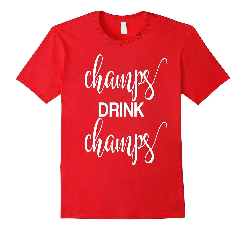 3e48ca8ad Champs Drink Champs Champagne Mimosa Brunch T-Shirt-Vaci – Vaciuk