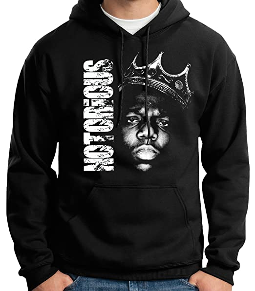 35mm - Sudadera con Capucha - Notorious Big - Hip Hop - Rap - Hoodie   Amazon.es  Ropa y accesorios 3e45d93cbc7