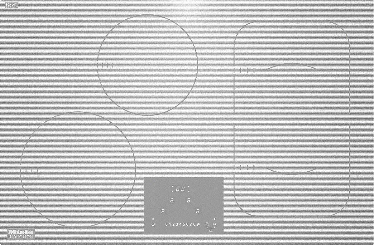 Miele-cocina de inducción KM Filotop 6349-1 75 cm, color ...