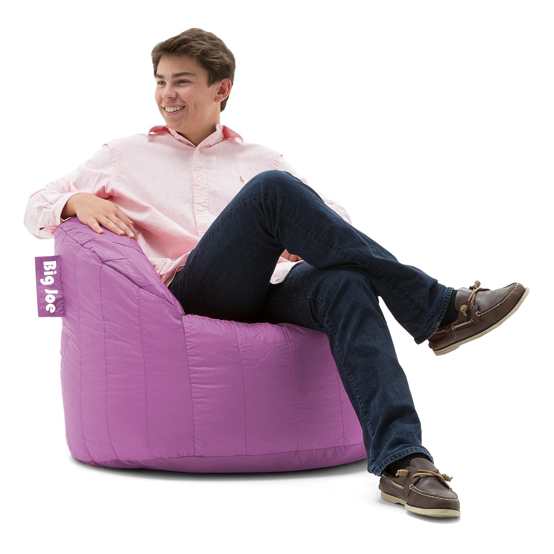 Big Joe Lumin SmartMax Fabric Chair, Fuchsia Comfort Research 650610