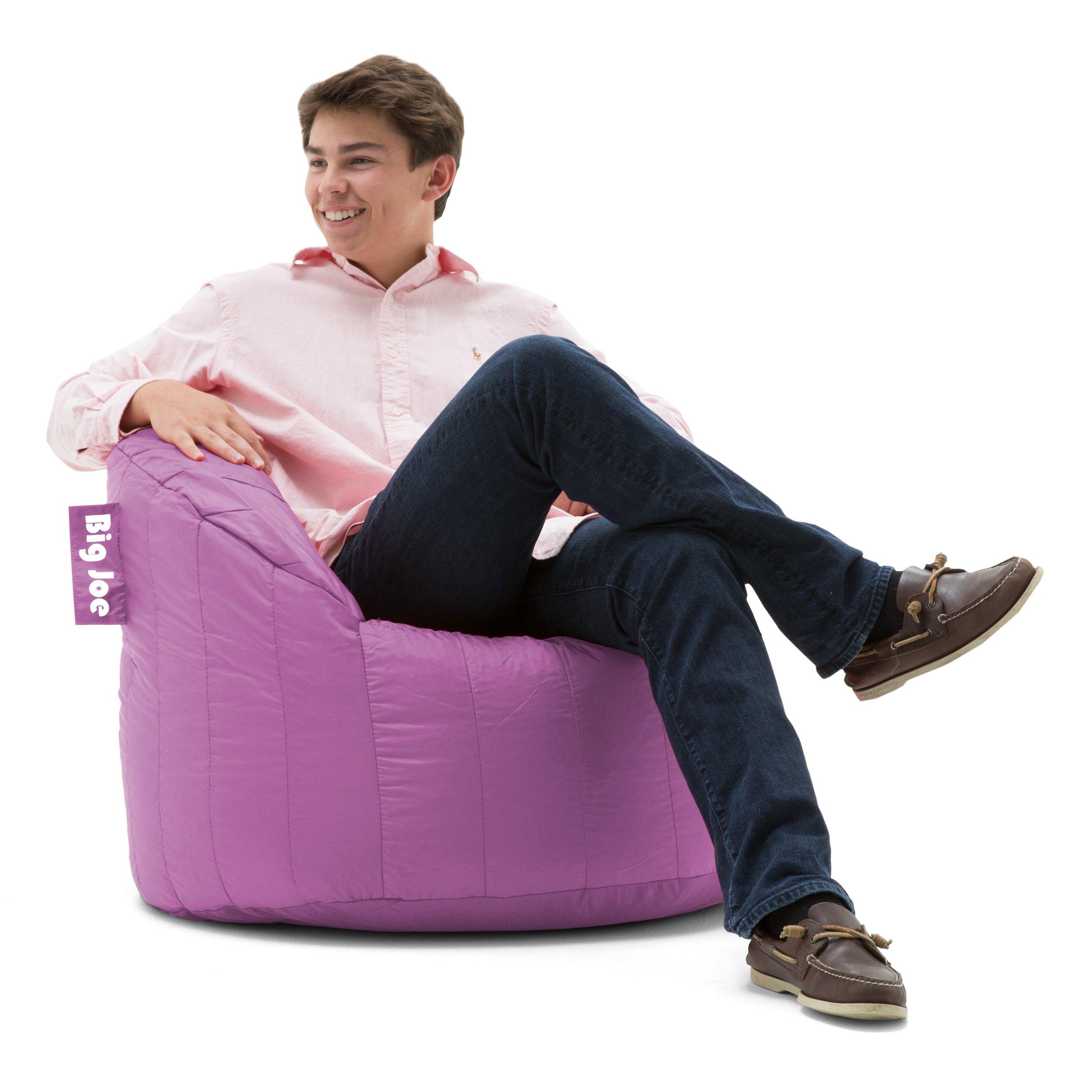 Big Joe Lumin SmartMax Fabric Chair, Fuchsia by Big Joe