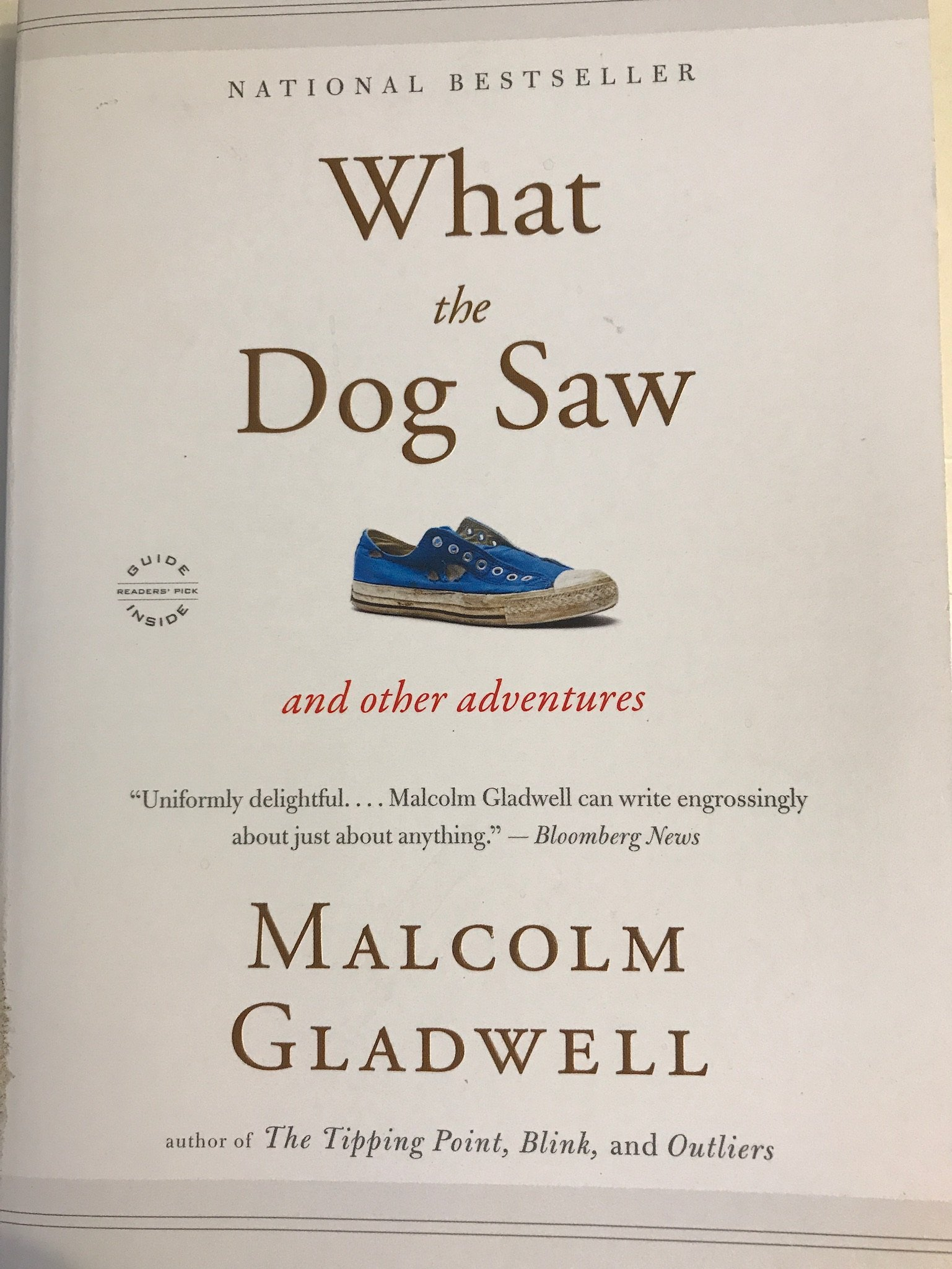 What the Dog Saw: And Other Adventures What the Dog Saw PDF