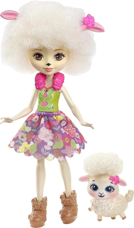Enchantimals - Muñeca Lorna Lamb - muñeca (Mattel FHN25)