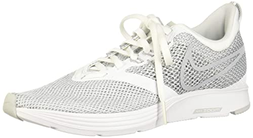 38cd9ee9998 Nike Women s s WMNS Zoom Strike Competition Running Shoes White Wolf Grey  100