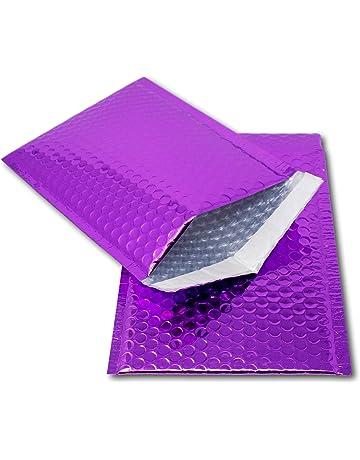 Packapro 127 x 175 mm Bubble Mailers Purple
