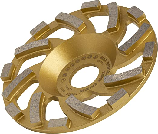 Topfscheibe für Festool Protool Diamantschleiftopf PKD Schleifteller Ø130mm