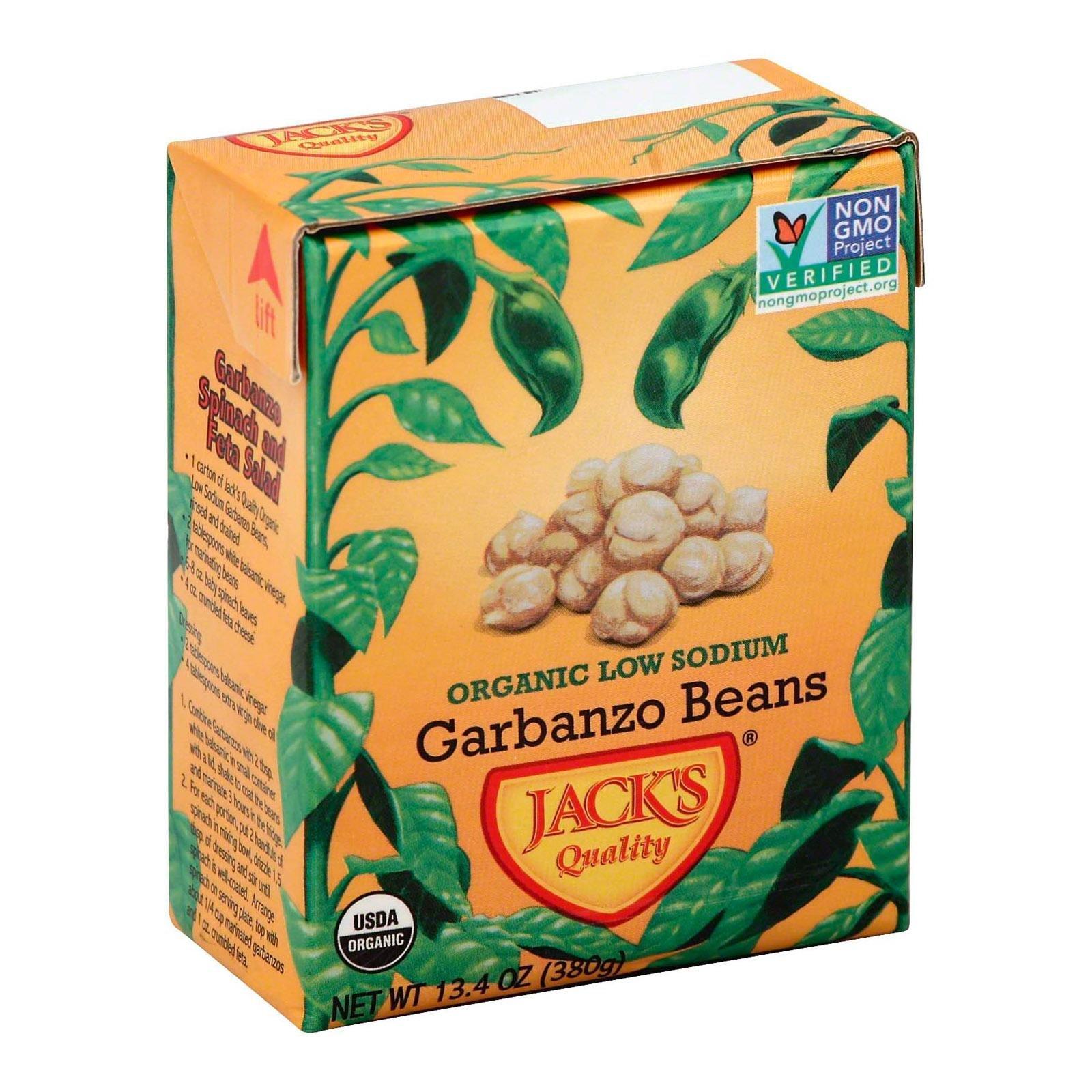 Jacks Quality Bean Grbnzo Lw Sodium Org