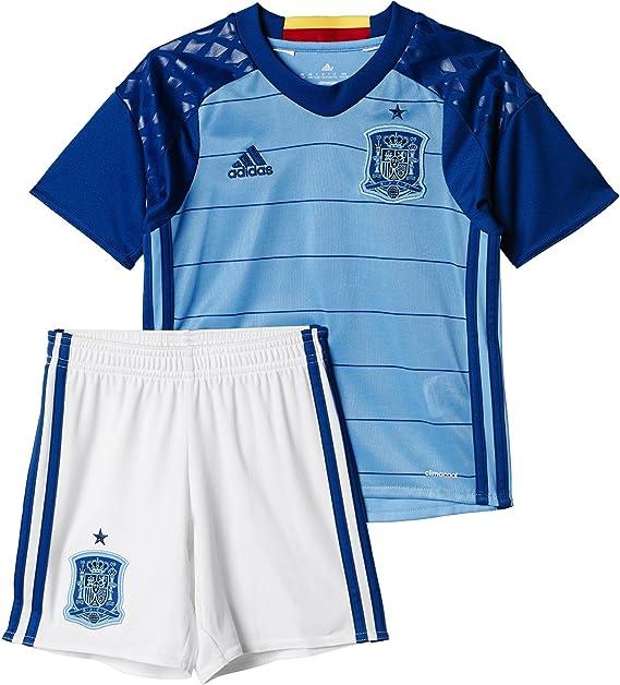 adidas UEFA Euro 2016 Spain Home Goalkeeper Conjunto Camiseta y ...