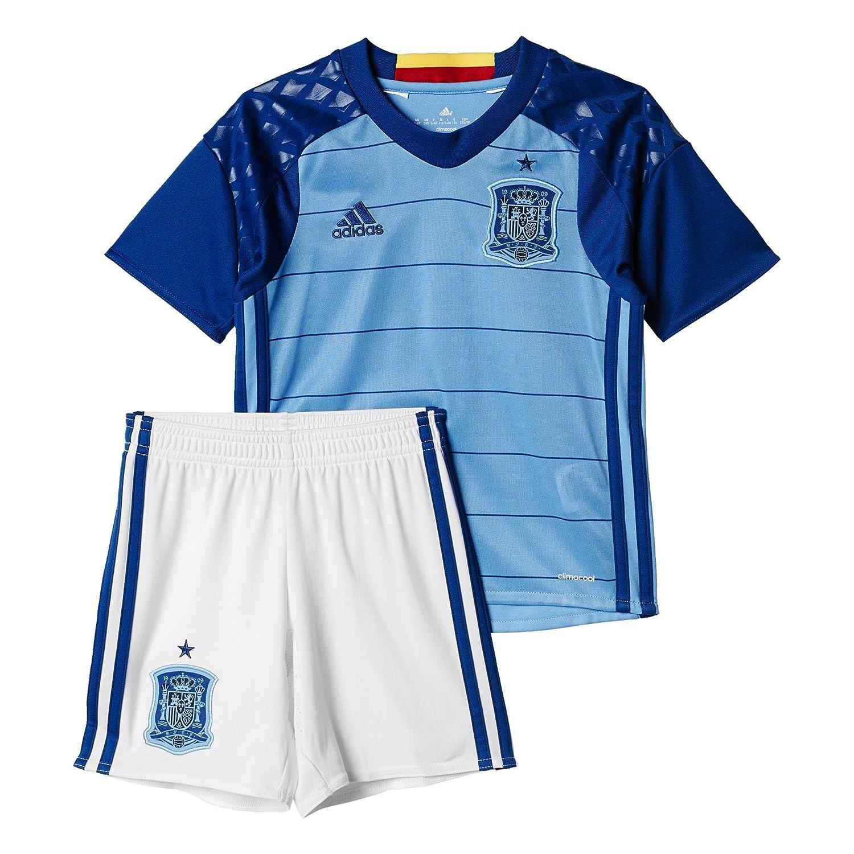Adidas Kinder Fußball Heim-ausrüstung UEFA Euro 2016 Spanien Torwart Mini