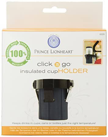 Prince Lionheart Clink n Go Insulated Stroller Cup Holder