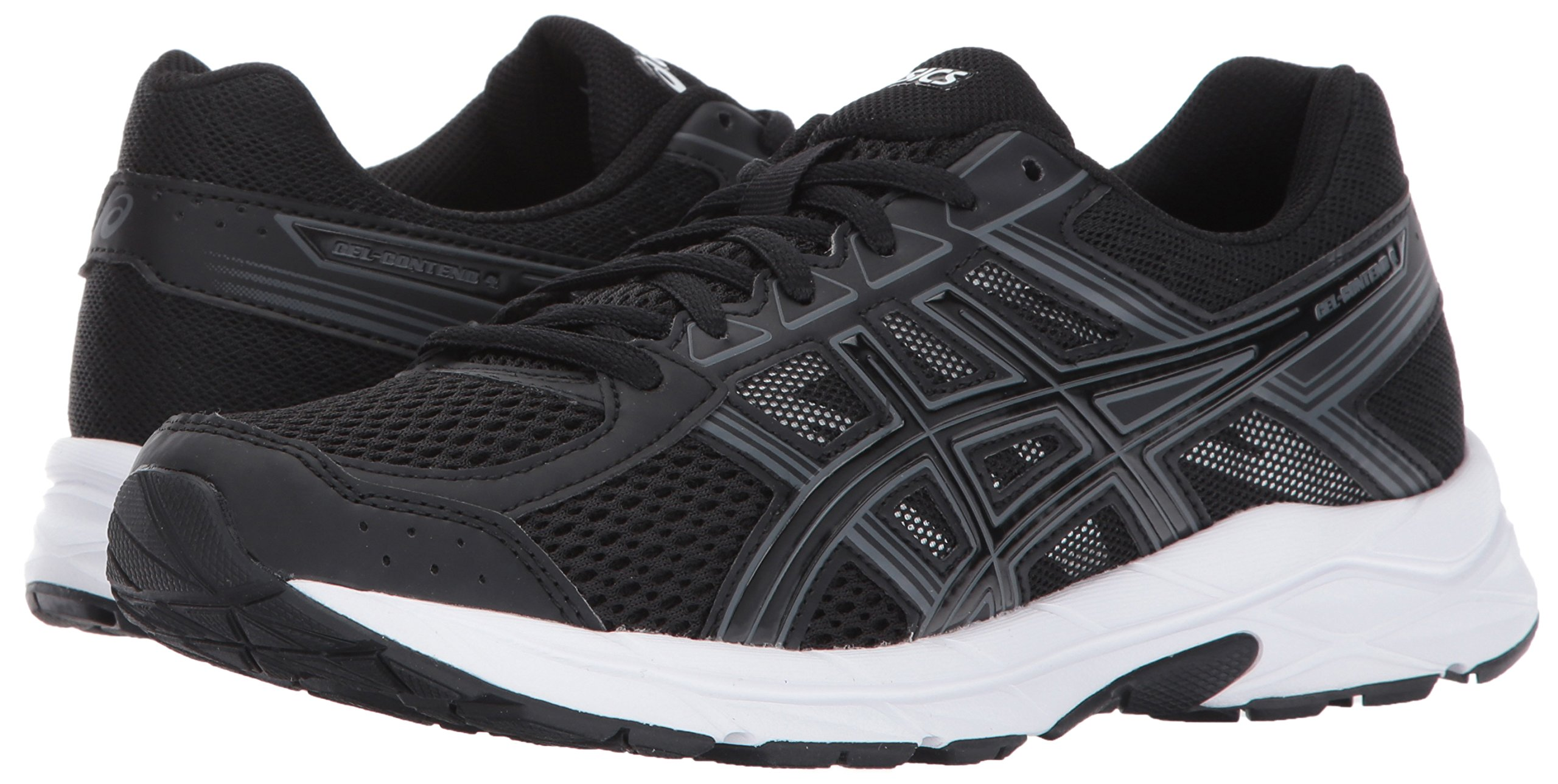 ASICS Womens Gel-Contend 4 Running Shoe, Black/Carbon, 6 D US by ASICS (Image #6)