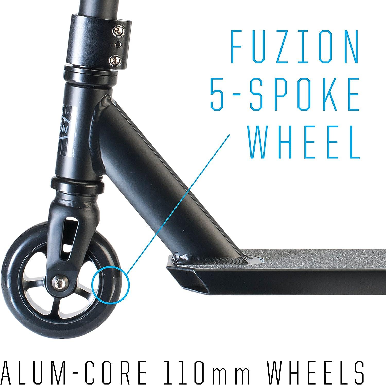 Unbekannt Fuzion Pro X-5 Pro Scooter schwarz