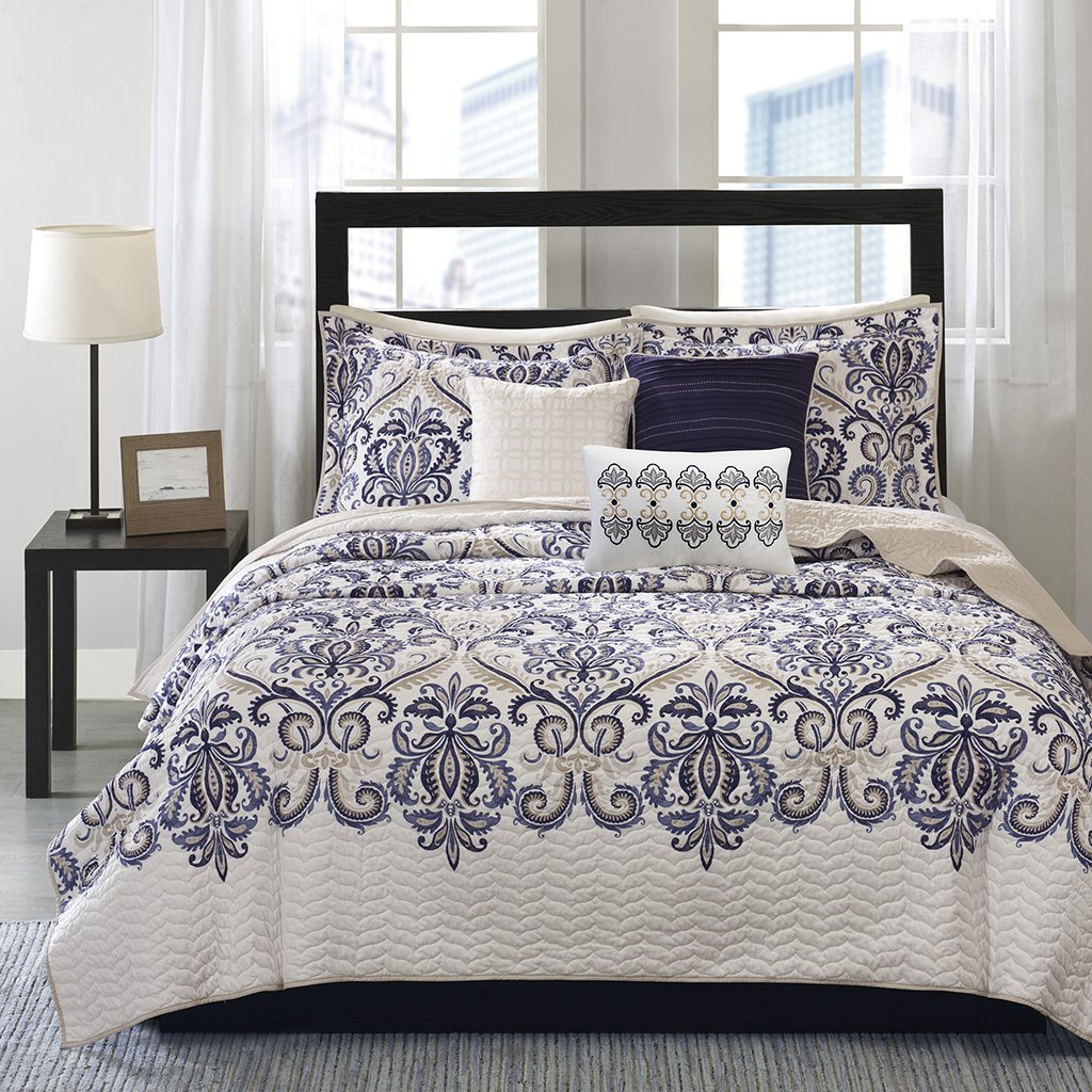 Madison Park Coverlet&Bedspread King/Cal King Blue