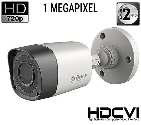 Cámara HDCVI Bullet 720P 1.0 Mpx 3.6 mm IP67 – Serie Lite – Dahua