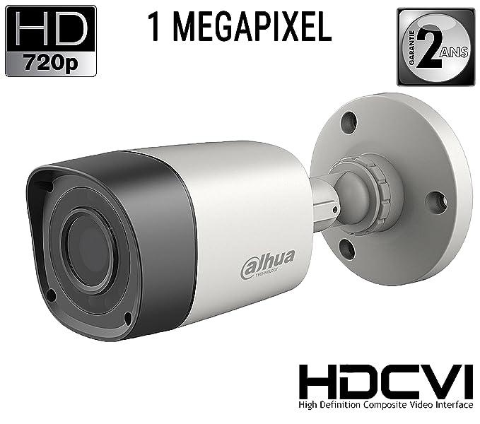 1 opinioni per Dahua HAC-HFW1000R, Telecamera HDCVI Bullet 720p, 1.0Mpx, 3.6mm, IP67