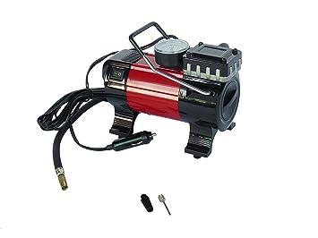 Bomba de aire eléctrica para coche, compresor de aire comprimido con manó