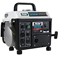 Pulsar PG1202s 1200W Peak 900W Rated Portable Gas-Powered Generator