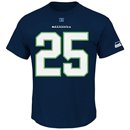 VF LSG NFL Seattle Seahawks Men s Richard Sherman  25 Eligible Receiver  Crew Neck T- a0fdb9326
