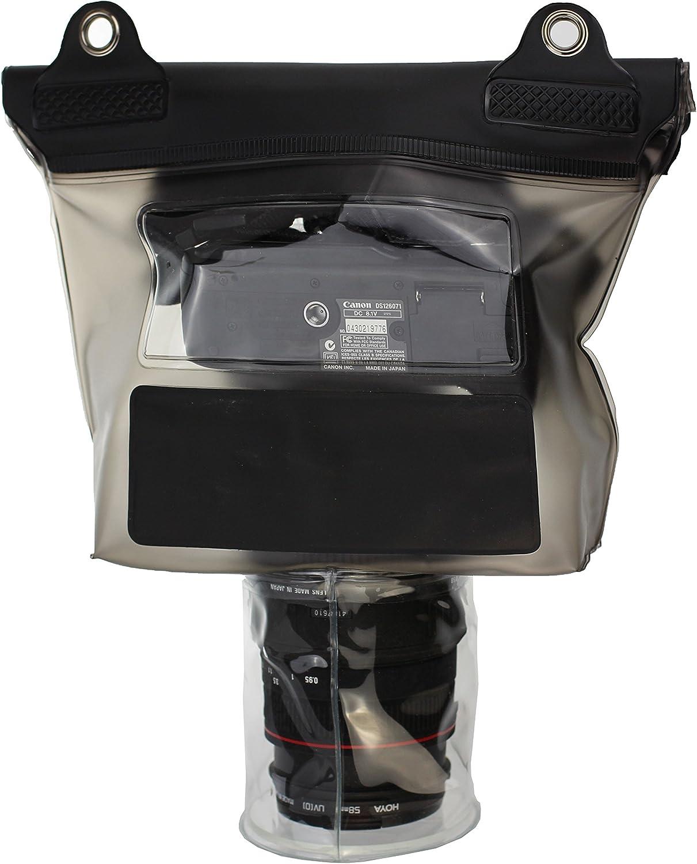 Compatible avec /Canon EOS 7D Navitech Housse /étui /étanche Compatible avec Appareil Photo num/érique avec lentille ext/érieure
