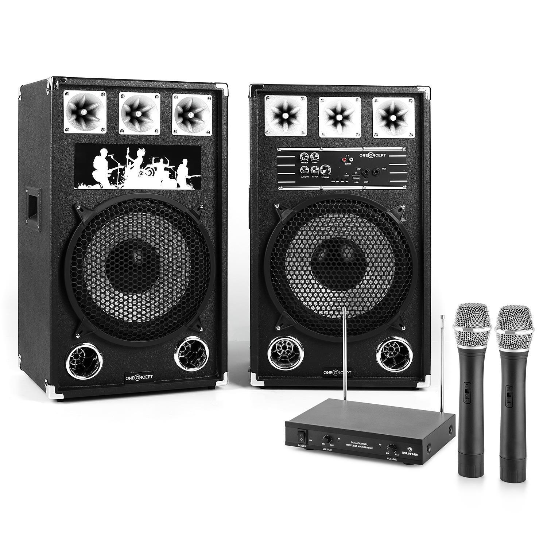 Electronic-Star STAR-12A Public Wireless karaoke system - Karaoke Systems (80 W, Wireless, 100 m, MicroSD (TransFlash), 170 g) E-star 60001033