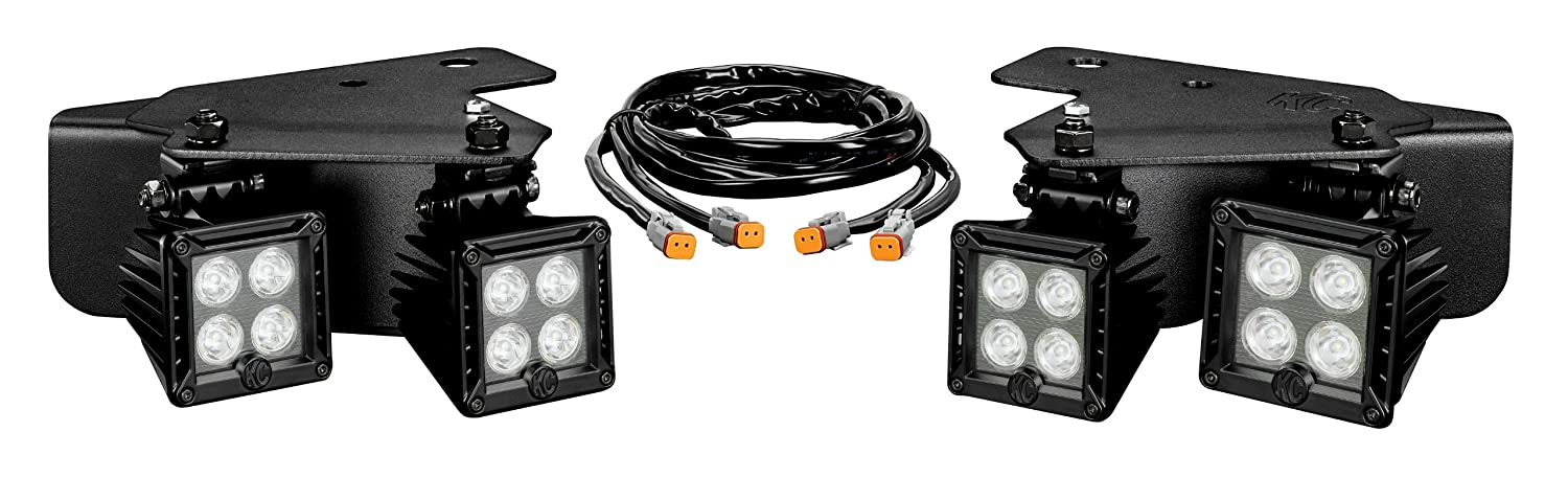 818cnMlZM7L._SL1500_ amazon com kc hilites 340 lzr led bumper light kit with harness Chrome KC LED Off-Road Lights at bayanpartner.co