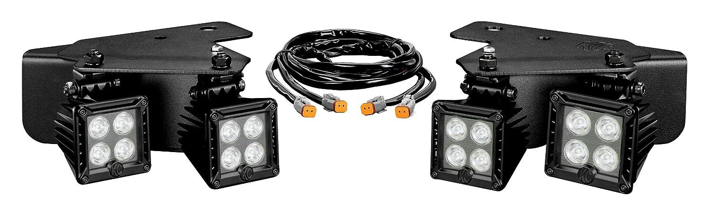 818cnMlZM7L._SL1500_ amazon com kc hilites 340 lzr led bumper light kit with harness Chrome KC LED Off-Road Lights at bakdesigns.co