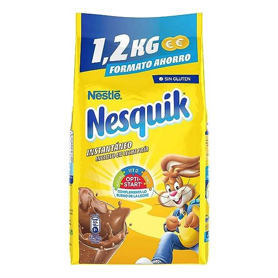 Nestlé Nesquik Cacao Soluble Instantáneo - Bolsa 10 x 1,2 kg