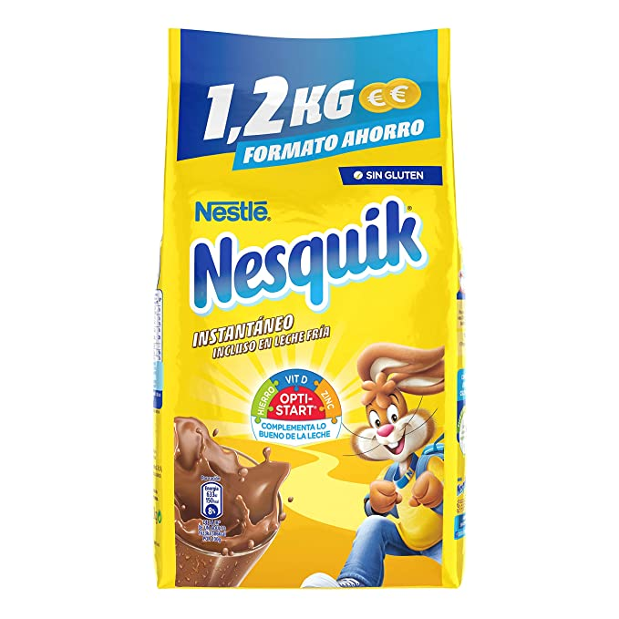 Nesquik - Cacao Soluble Instantáneo - 1200 gr