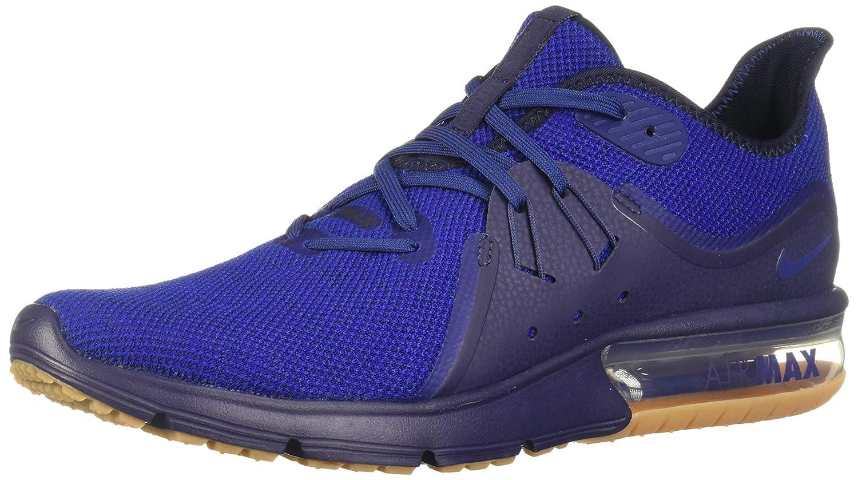 MultiCouleure (Obsidian Deep Royal bleu Neutral Indigo 405) 47 EU Nike Air Max Sequent 3, Chaussures de FonctionneHommest Compétition Homme