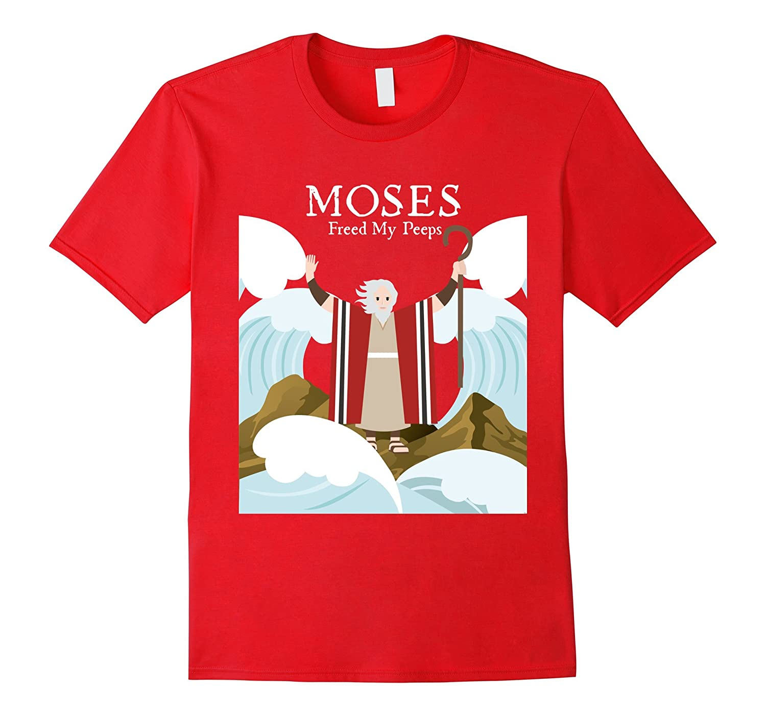 Moses Freed My Peeps T-Shirt For Passover Seder-CD