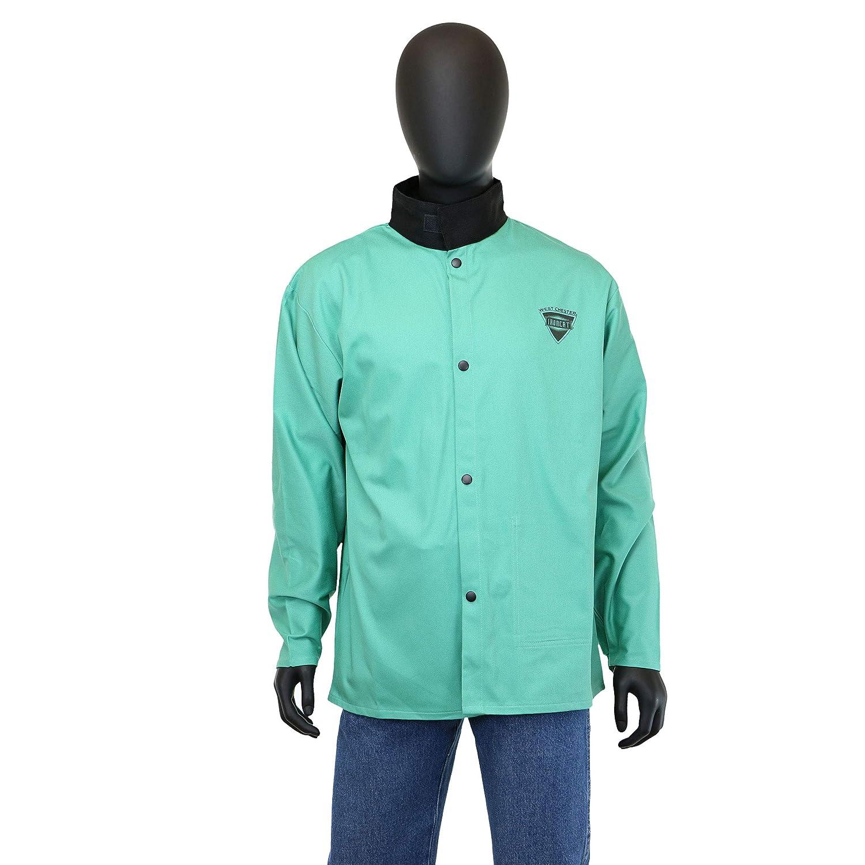 Medium West Chester IRONCAT IRONTEX 7050 Flame Resistant Cotton Welding Jacket