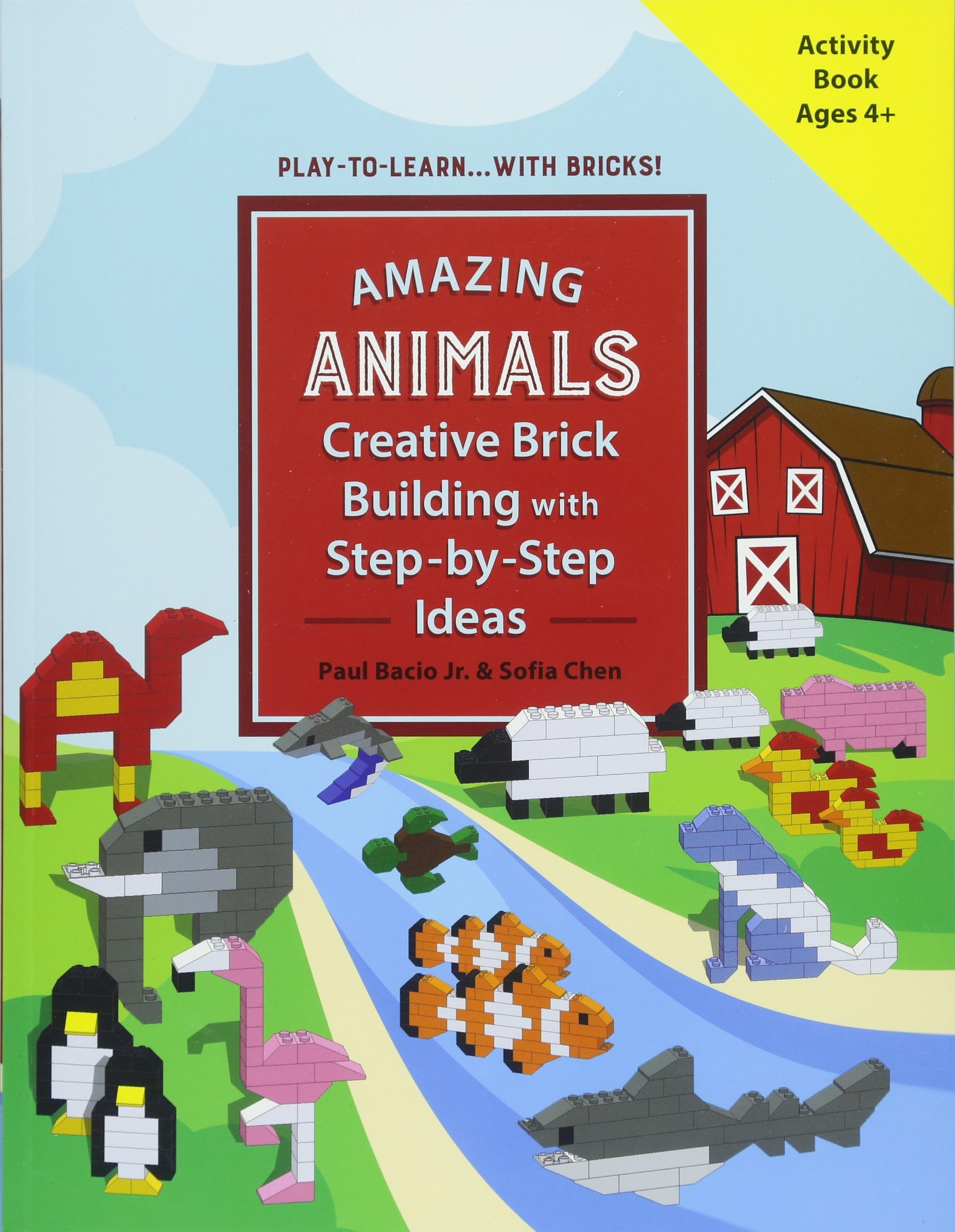 Download AMAZING ANIMALS: Creative Brick Building with Step-by-Step Ideas (Play-to-Learn...With Bricks!) pdf