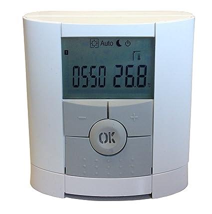 Limmer 4500410 Termostato/termostato por Watts V 22, inalámbrica Termostato Con Programación semanal,