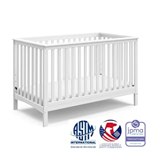Storkcraft Hillcrest Fixed Side Convertible Crib