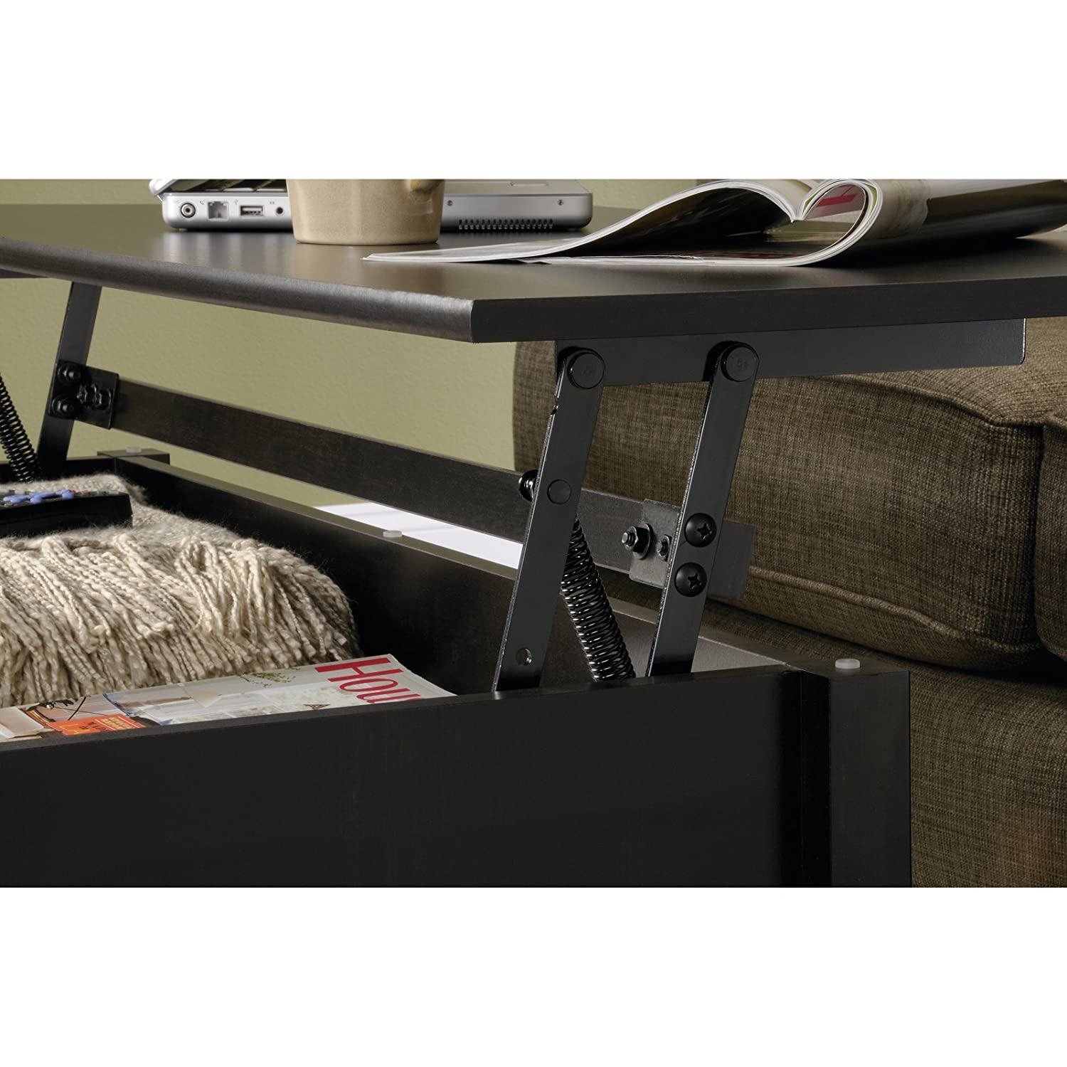 Amazon Sauder Edge Water Lift Top Coffee Table