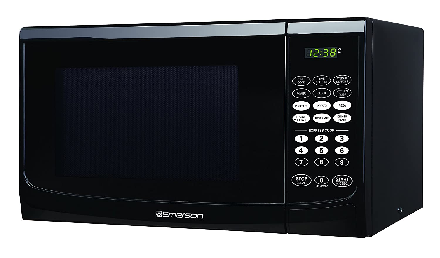 Emerson 0.9 CU. FT. 900 Watt, Touch Control, Black Microwave Oven, MW9255B