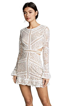 f4207b6d716 Amazon.com  For Love   Lemons Women s Emerie Cut Out Dress  Clothing