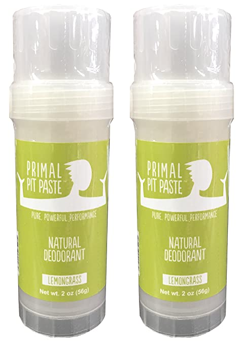 Primal Pit Paste Lemongrass Stick 2 Pack