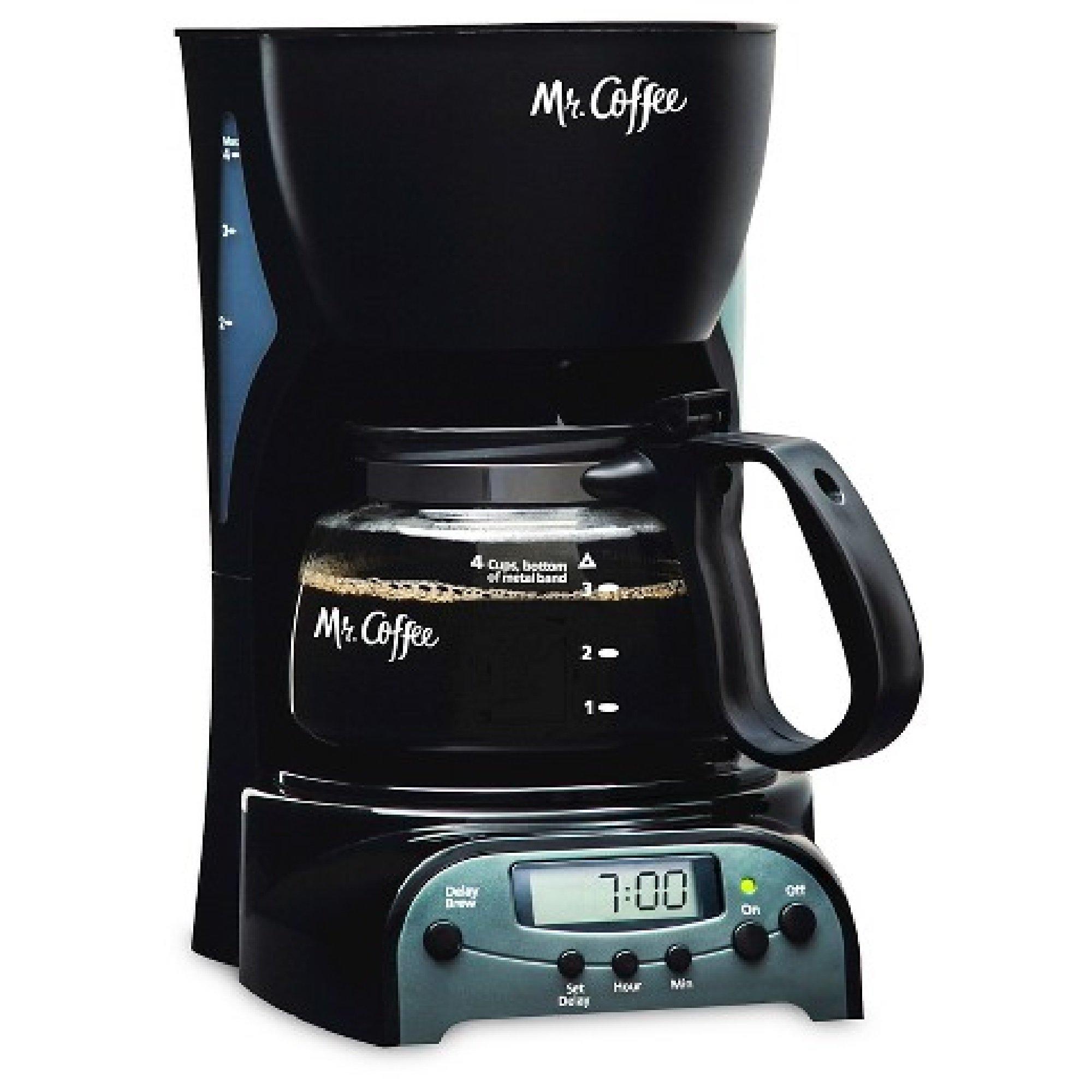 Mr.Coffee 4-Cup Programmable Coffeemaker