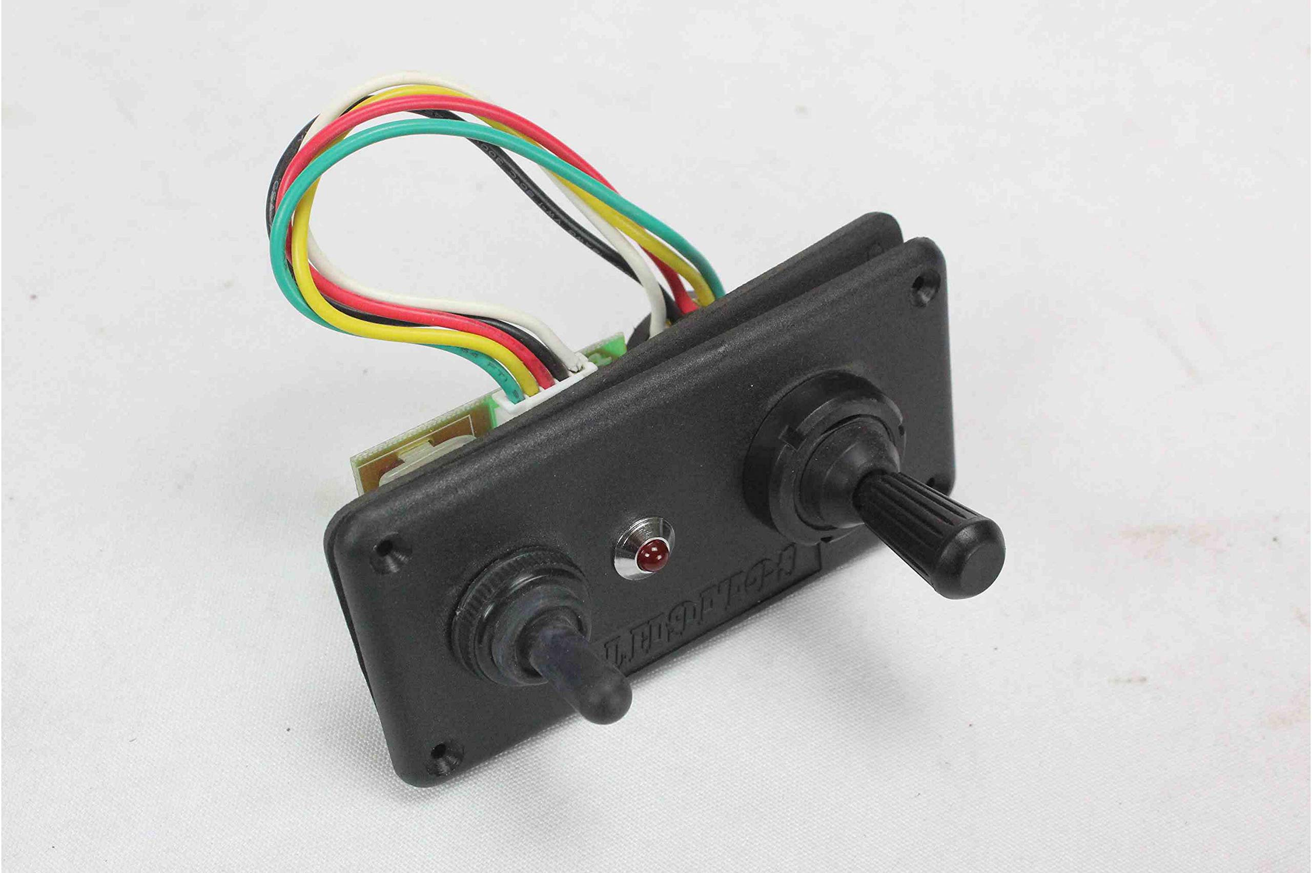 GL-2067-D Dash Mount Remote Control for Golight 2067 Spotlight by Larson Electronics