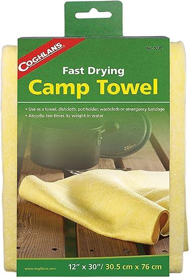 "Coghlans Deluxe Camp Towel 40/"" x 18/"""